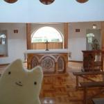 トラピスチヌ修道院の礼拝堂
