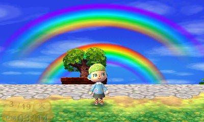 フモフモ村の虹