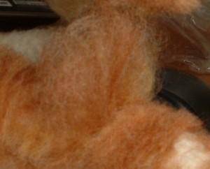 羊毛フェルト 植毛