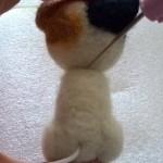 羊毛フェルト三毛猫作成日記 ボディ作成リベンジ