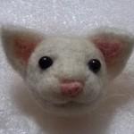 20140505 羊毛フェルトの白猫