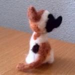 20140622 羊毛フェルトの三毛猫