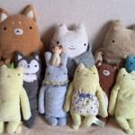 20150406 羊毛フェルト ハチワレ茶トラ猫 フモフモさん達とお別れ