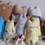 羊毛フェルトの三毛猫(四つん這い) が旅立ちました