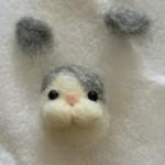羊毛フェルト 猫マスコット