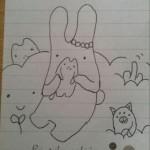 フモフモさんらのイラストを描いてみた