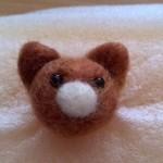 久々に羊毛フェルト猫を作りました