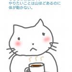 つかの間のコーヒータイム